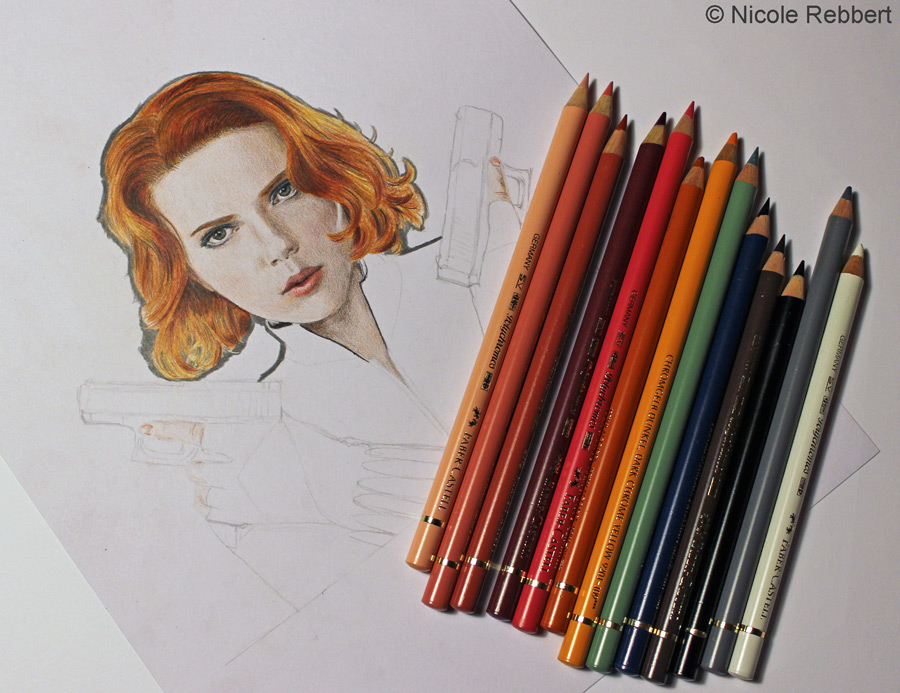 Black Widow - Avengers WIP by Quelchii
