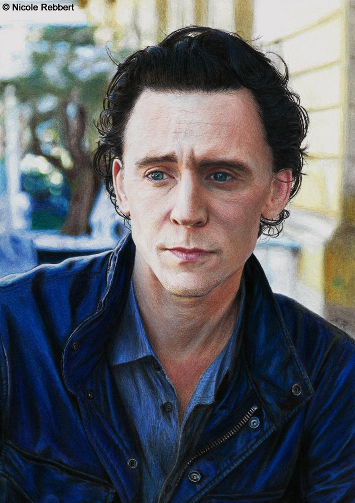 Tom Hiddleston Colour Pencils By Quelchii On Deviantart