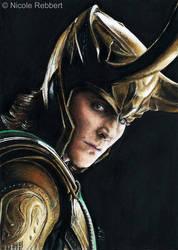 Loki sketch card by Quelchii