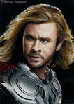 Thor sketch card