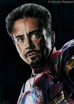 Iron Man sketch card