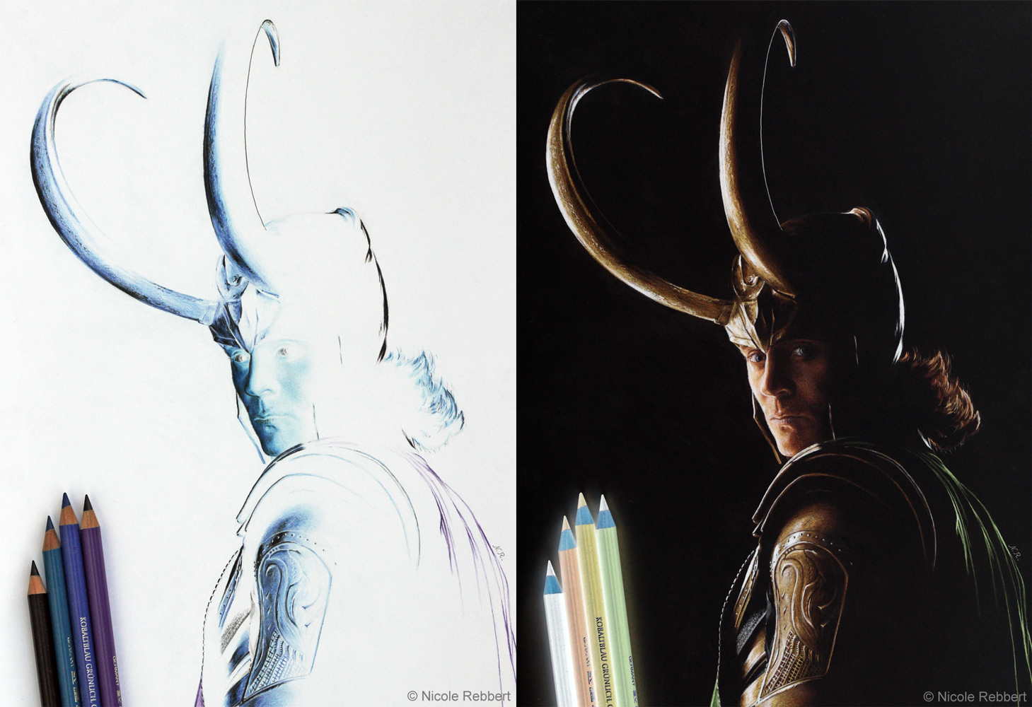 Loki (Inverted Drawing)