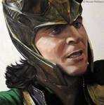 Loki (oil painting)
