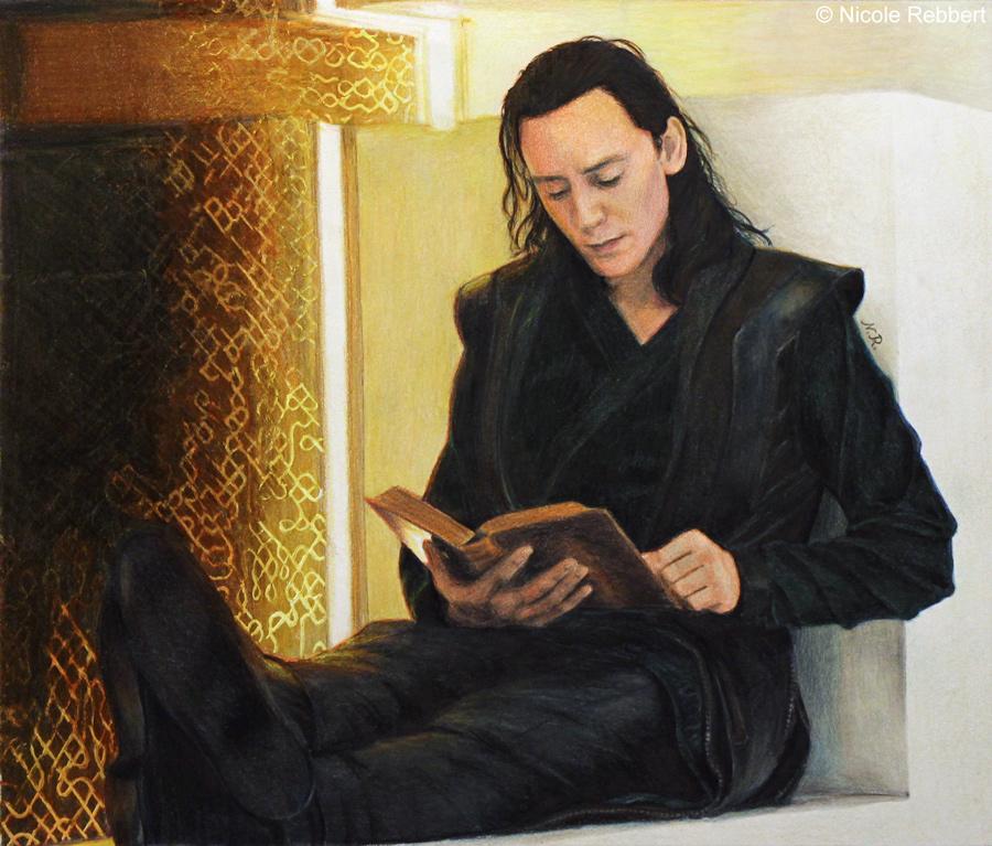 Loki in Prison by Quelchii
