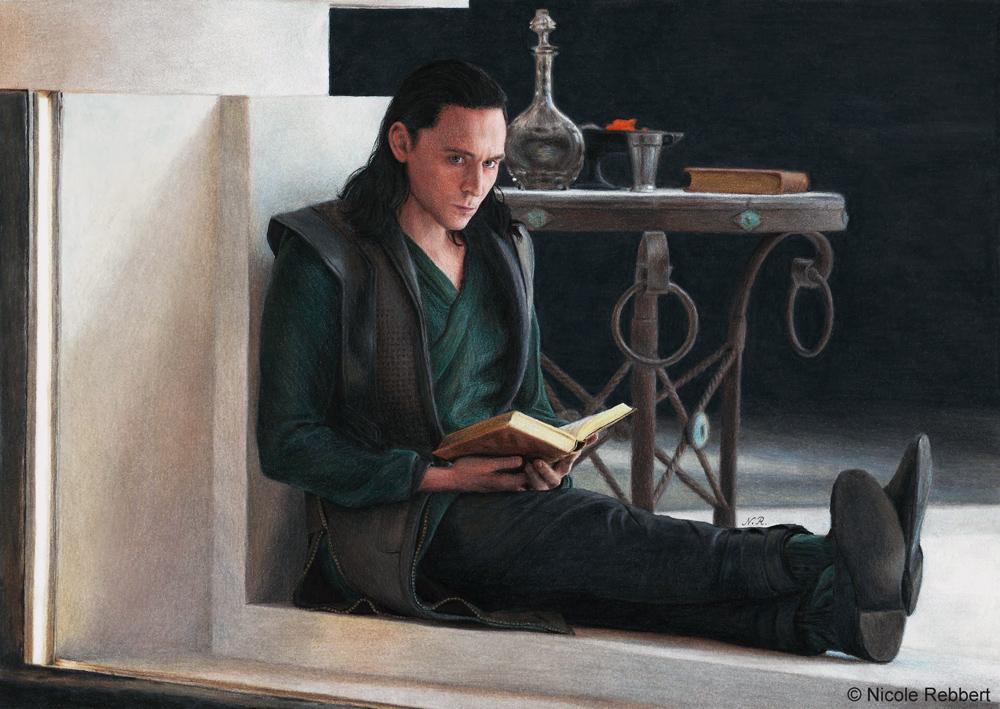 Loki - Do not disturb... by Quelchii