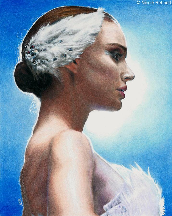 Black Swan - Natalie Portman by Quelchii