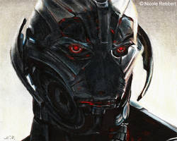 Ultron - There are no strings on me (drawing) by Quelchii