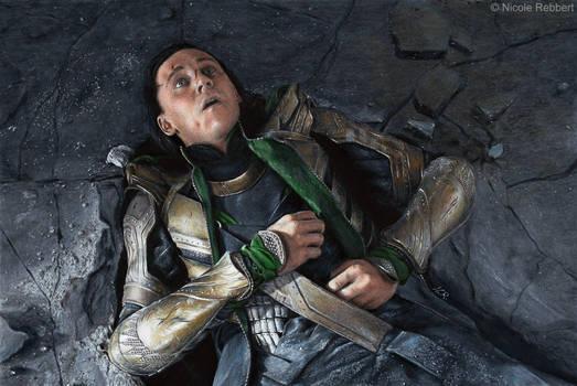 Loki - Puny God (drawing)