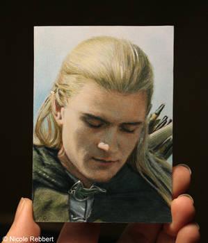 Legolas sketch card