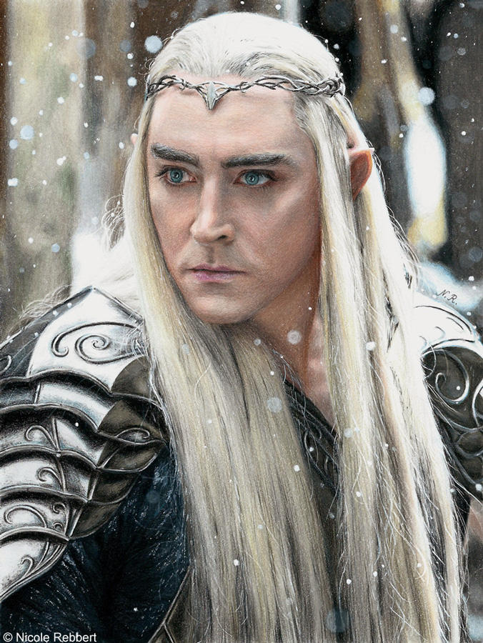 Thranduil (drawing)