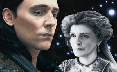 Loki - Into Eternity (drawing) by Quelchii