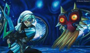 Fierce Deity Link vs. Majora's Mask