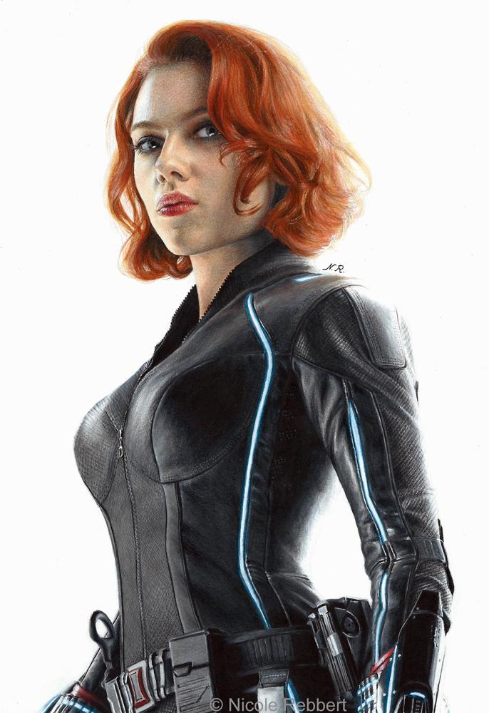 Black Widow (drawing)