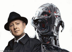 Ultron - James Spader (drawing) by Quelchii
