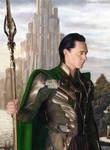 King Loki (drawing)