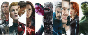 Avengers - Age of Ultron drawings