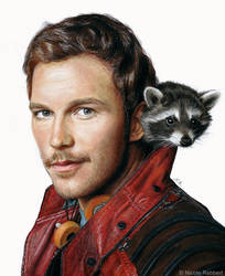 Star-Lord (drawing)