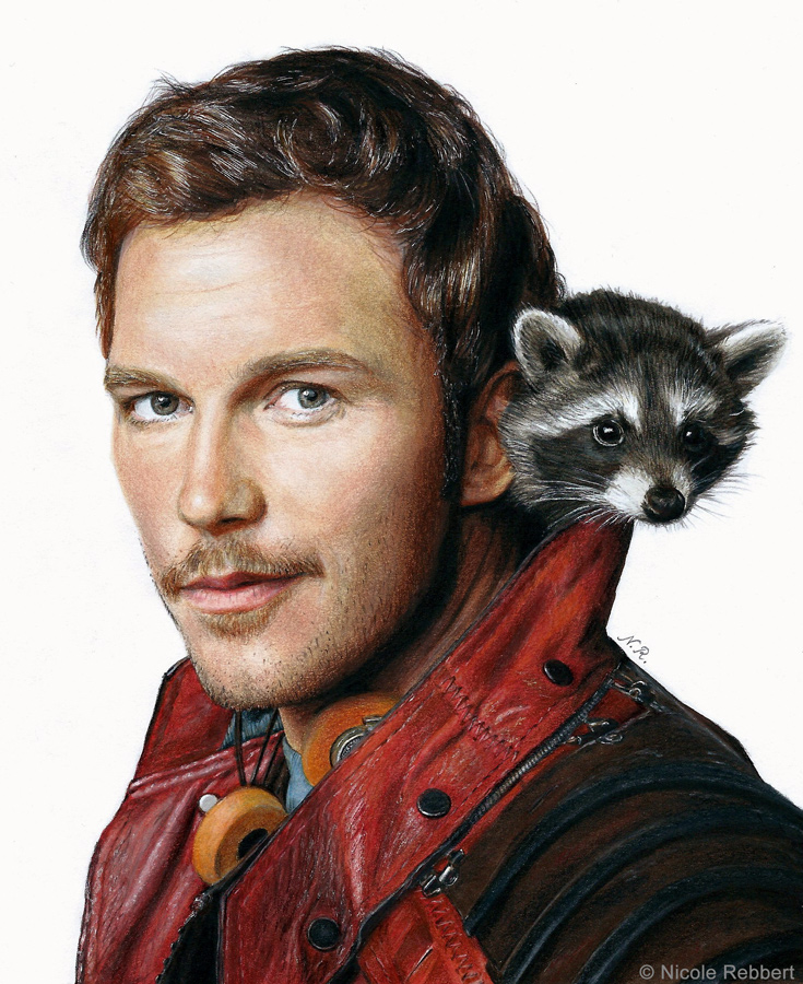 Star Lord And Rocket Raccoon By Timothygreenii On Deviantart: Star-Lord (drawing) By Quelchii On DeviantArt