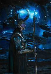 Loki of Asgard (redraw)