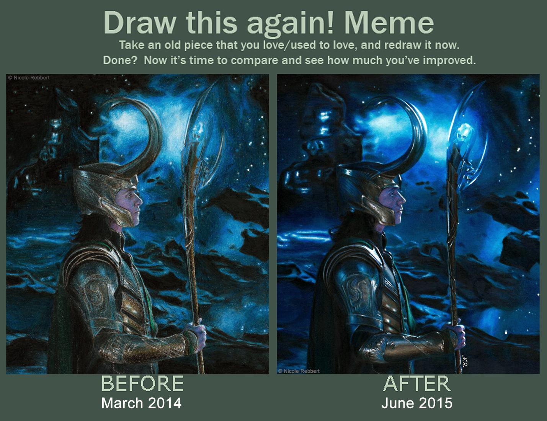 Draw This Again: Loki of Asgard