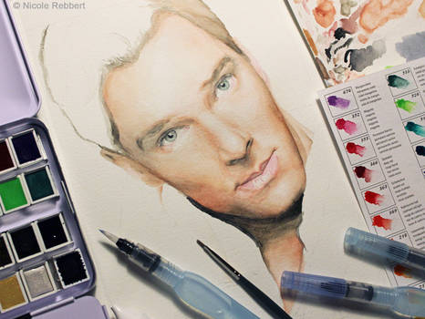 Benedict Cumberbatch WIP