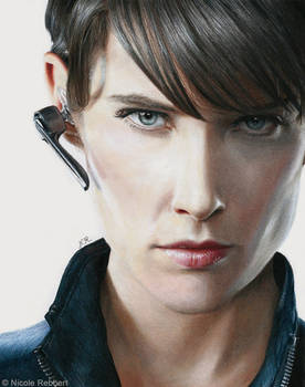 Agent Maria Hill (drawing)