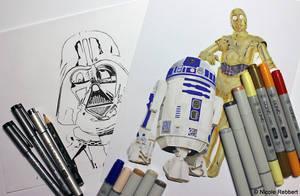 Star Wars WIP by Quelchii