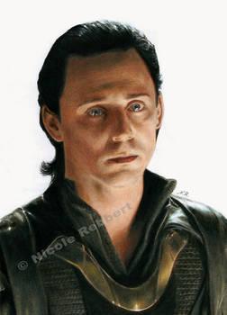 Sad Loki (drawing)