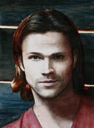 Sam Winchester (watercolor)