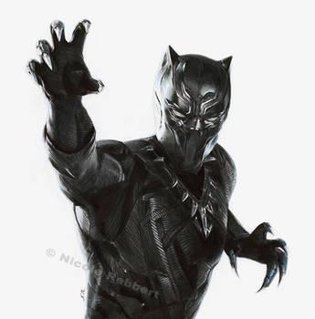Black Panther (drawing)