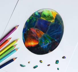 Black Opal (drawing)