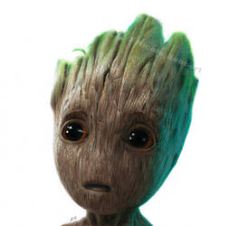Baby Groot (drawing)