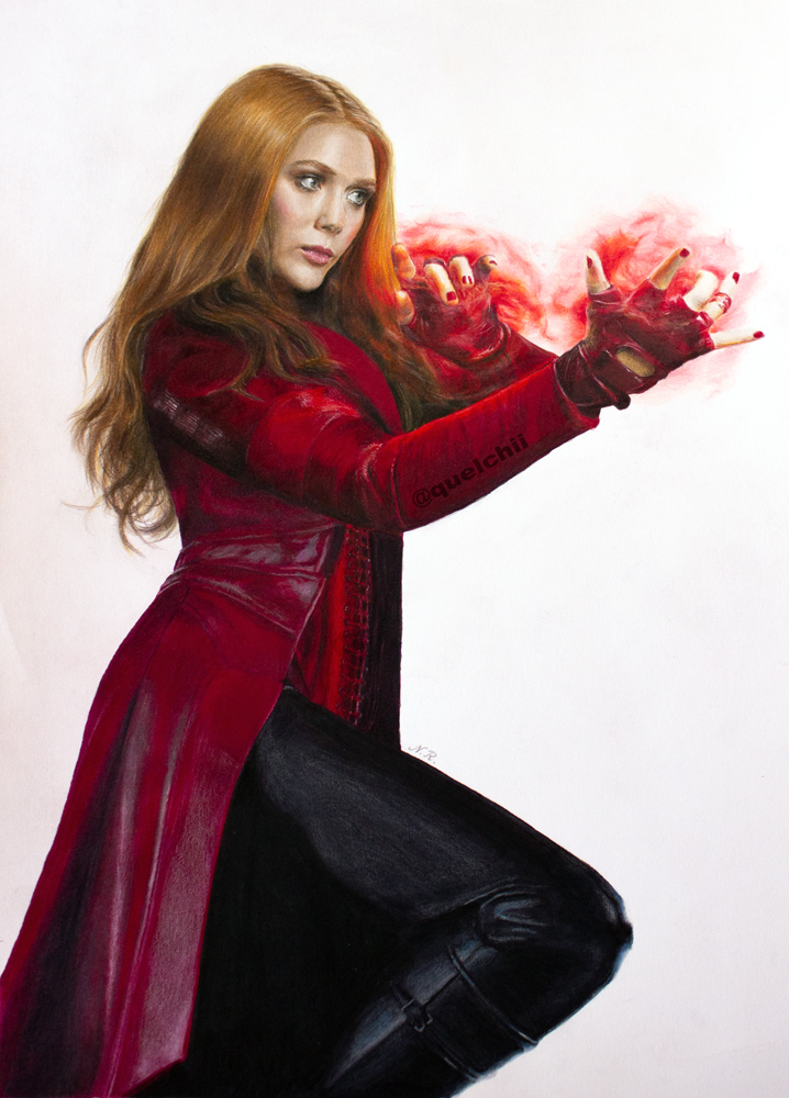 Scarlet Witch (drawing)