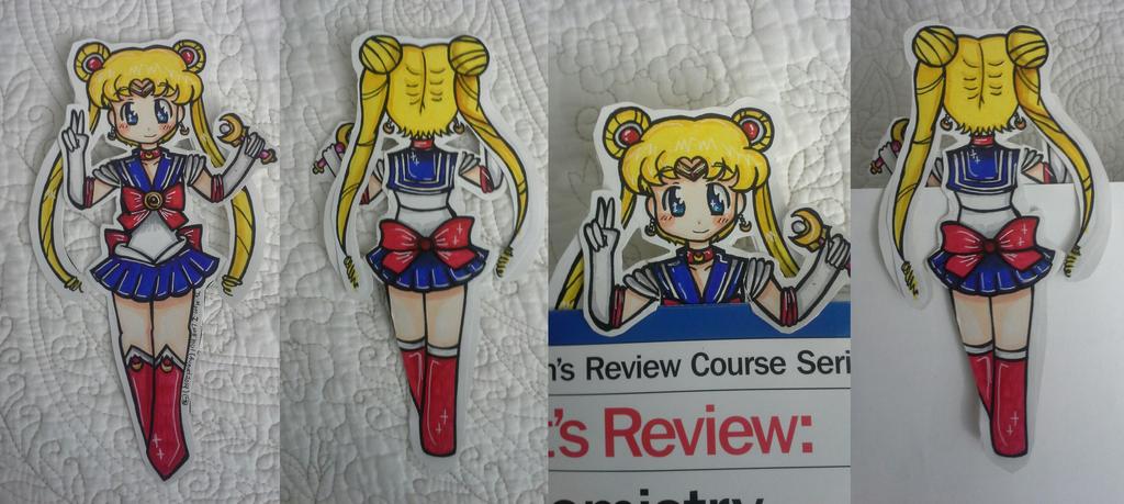sailor moon bookmark by imimi ai
