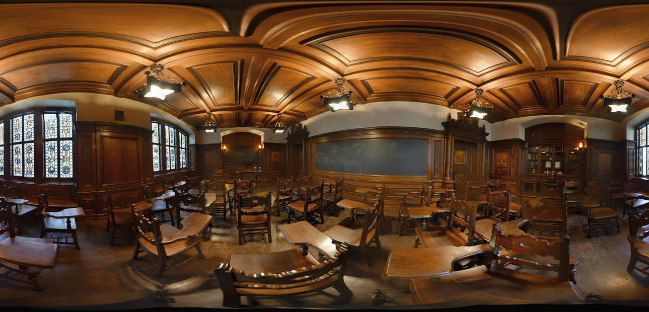 The German Room in Cathedral of Learning, Pittsbg by OJZEIDLER