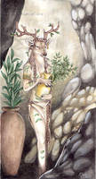 Goddess Doe by m-lupus
