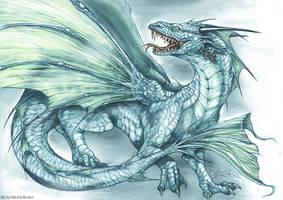 Blue Dragon by m-lupus