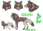 Sabaku Ref-Sheet by Fusion-Drago020