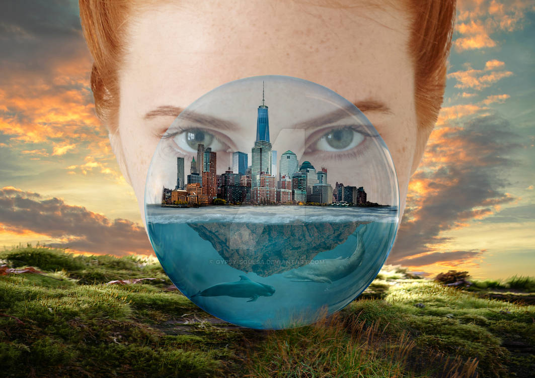 World in a glass ball