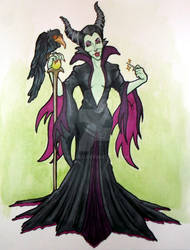 Maleficent by xxLulu