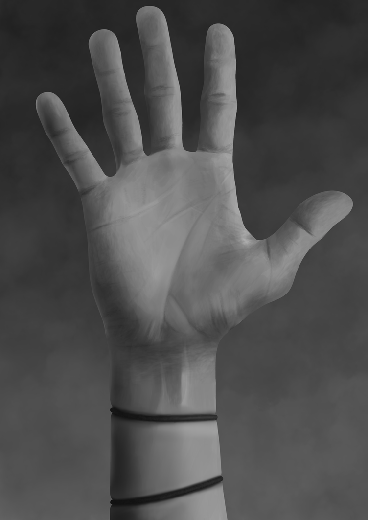 A hand by purchawynlaczki