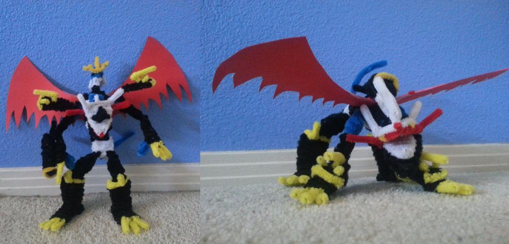 Imperialdramon Dragon/Fighter Mode by KirbiKnight on ...
