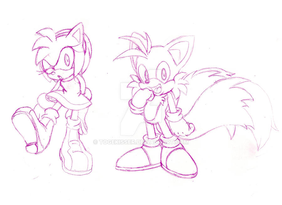 Amy and Tails by Togekisser