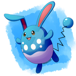 Pokeddexy: Favorite Water Type - Azumarill