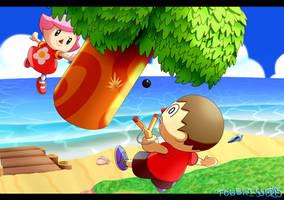 Smash Bros Roster Project - Villager by Togekisser