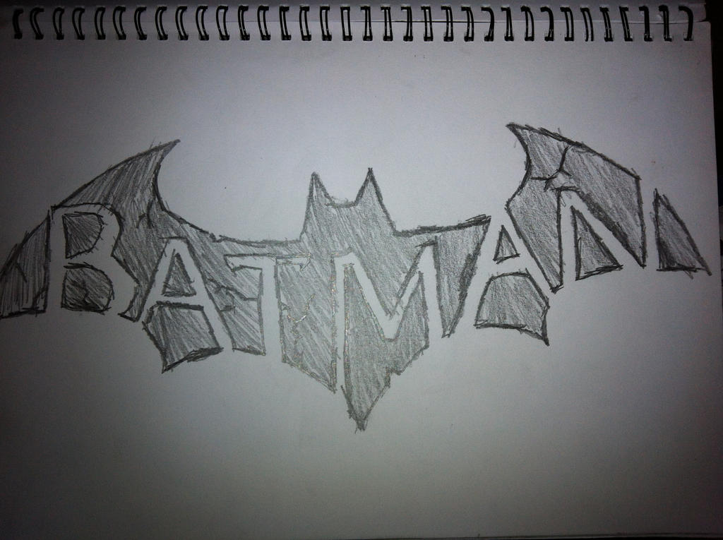 how to draw a cool batman symbol