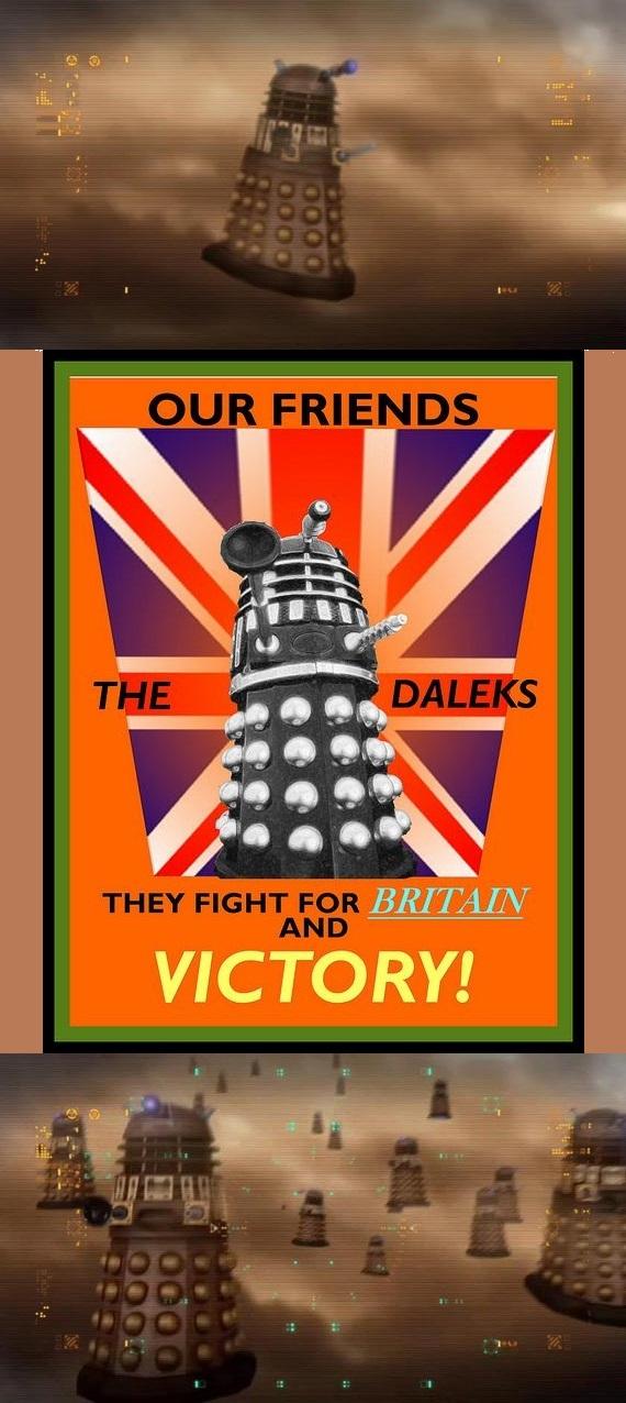 Daleks on II GM by MarceloRenard2