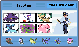 My Trainer Card - Pokemon