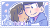Karamatsu x Manami Stamp by JG-Callie