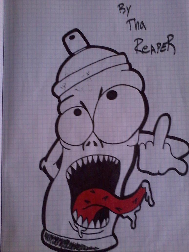 Graffiti Spray Can Characters Drawings Graffiti Spray Can Drawing